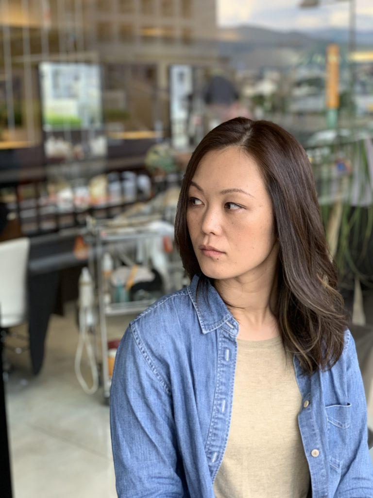 福岡県春日市 美容室 ART of hair アートオブヘアー オーダーメイド 外国人風ハイライト