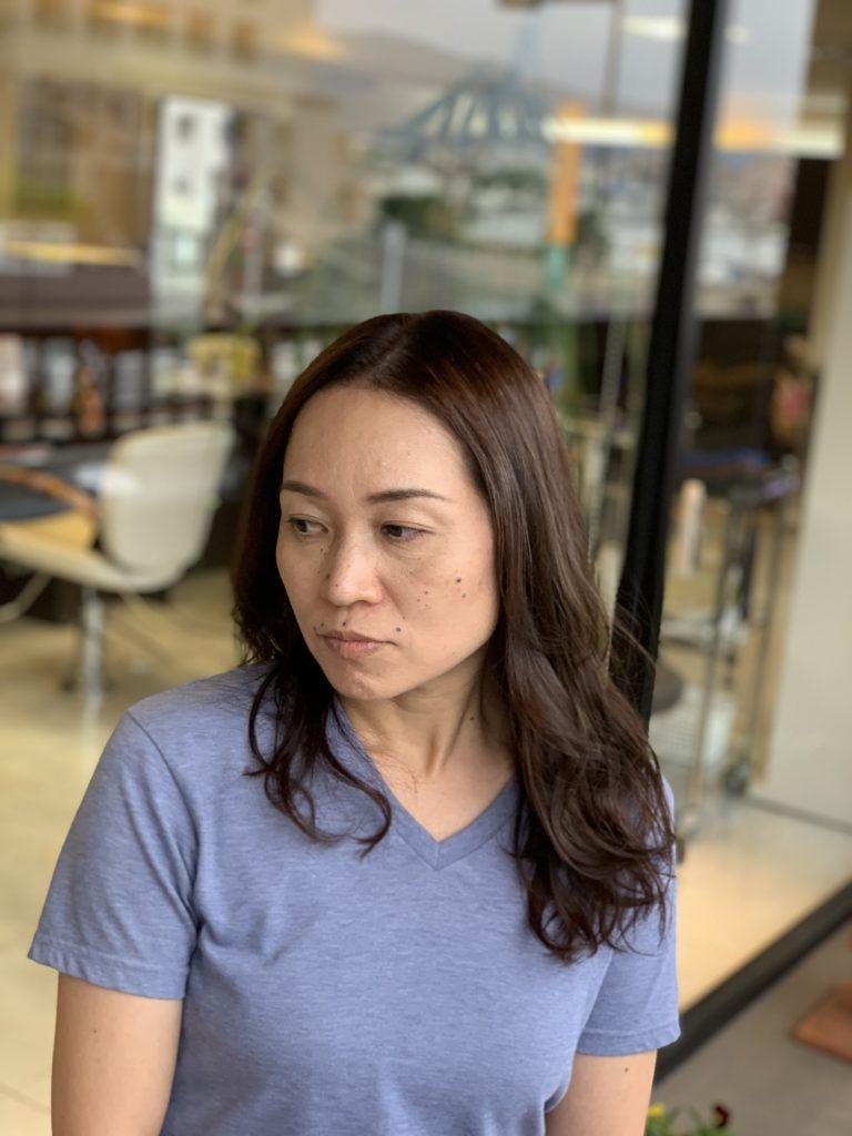 福岡県春日市 美容室 ART of hair アートオブヘアー シーディルカラー + オージュア