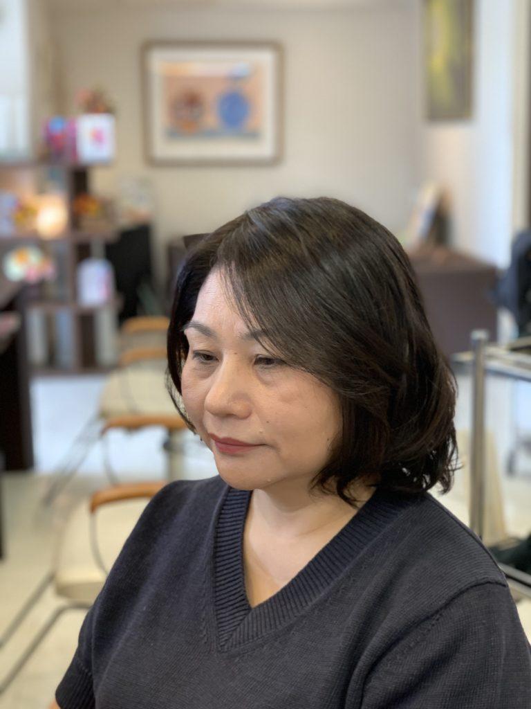 福岡県春日市 美容室 ART of hair アートオブヘアー 白髪も美しく染まる シーディルカラー