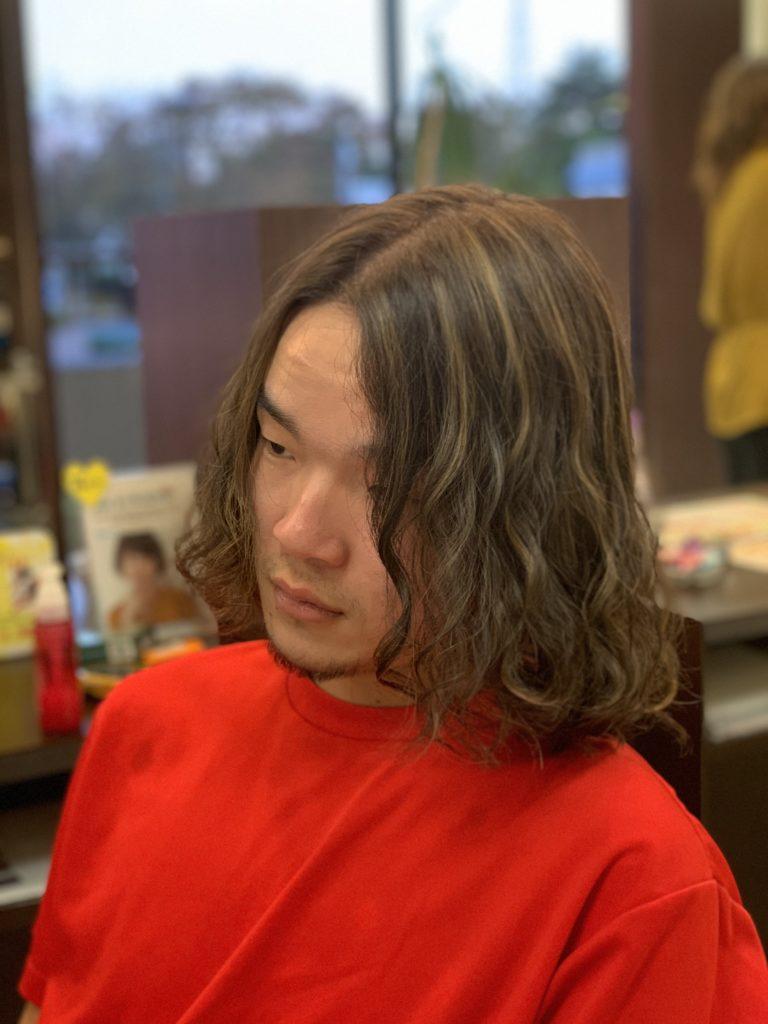 福岡県春日市 美容室 ART of hair アートオブヘアー 外国人風 ハイライト バレイヤージュ