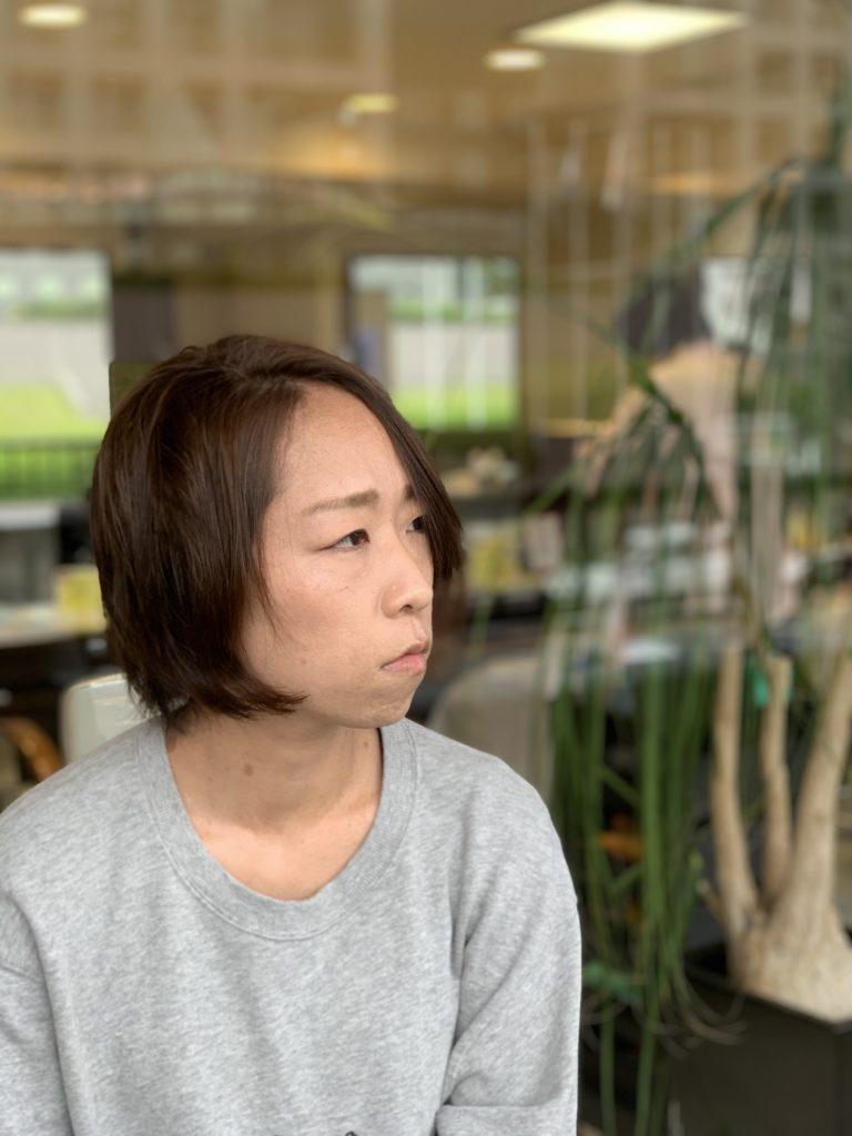 福岡県春日市 美容室 ART of hair アートオブヘアー スラットストレート + スーパーデジタルパーマ