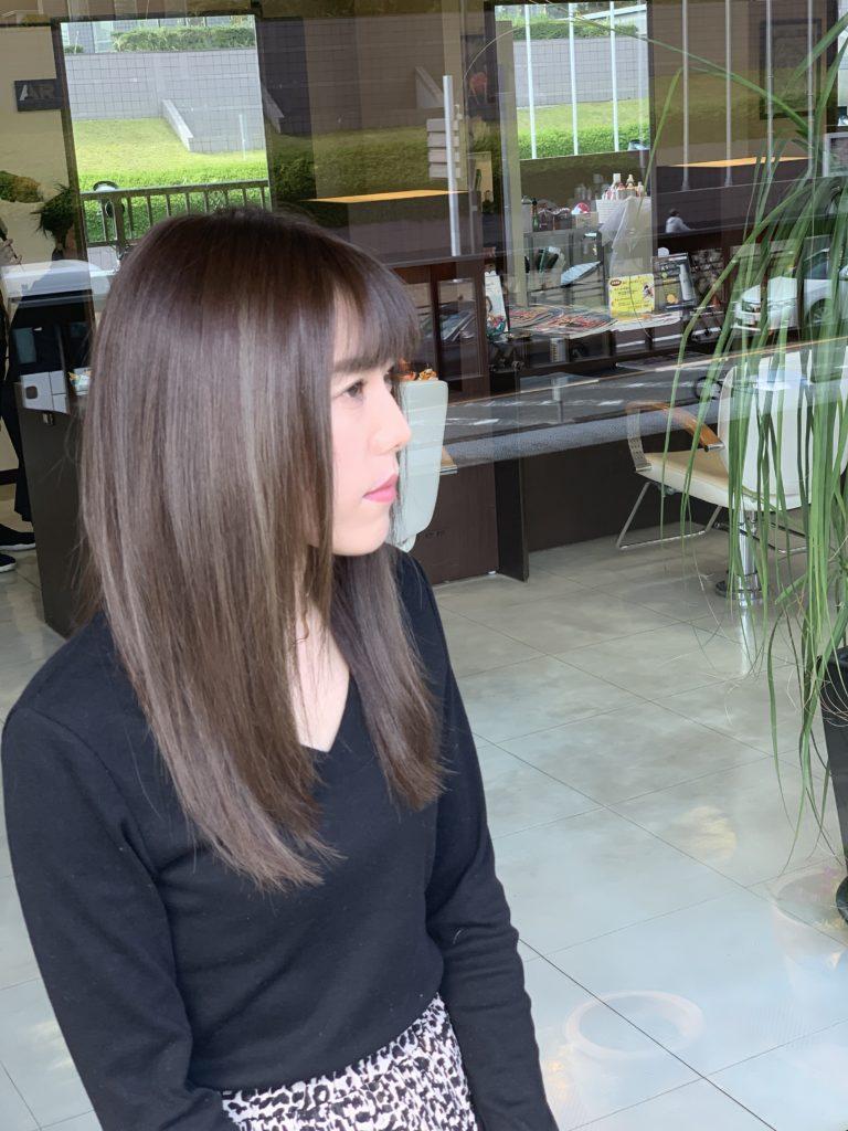 福岡県春日市 美容室 ART of hair アートオブヘアー オーダーメイド ハイライト バレイヤージュ