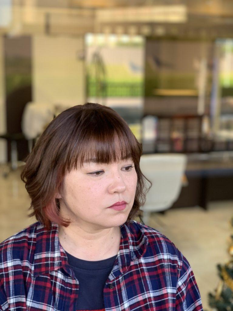 福岡県春日市 美容室 ART of hair アートオブヘアー オーダーメイド ポイントカラー