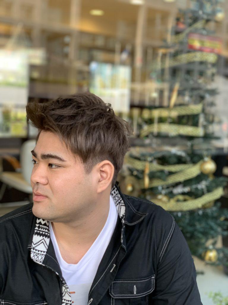 福岡県春日市 美容室 ART of hair アートオブヘアー 外国人風デザインカラー ダブル