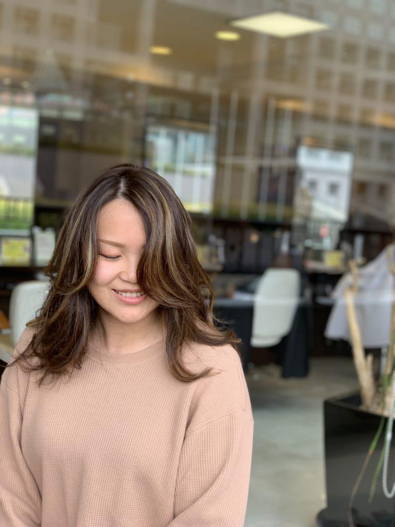 福岡県春日市 美容室 ART of hair アートオブヘアースペシャルハイライトカラー