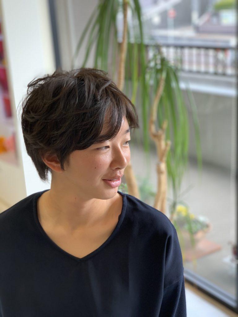 福岡県春日市 美容室 ART of hair アートオブヘアー 縮毛矯正+デジタルパーマ
