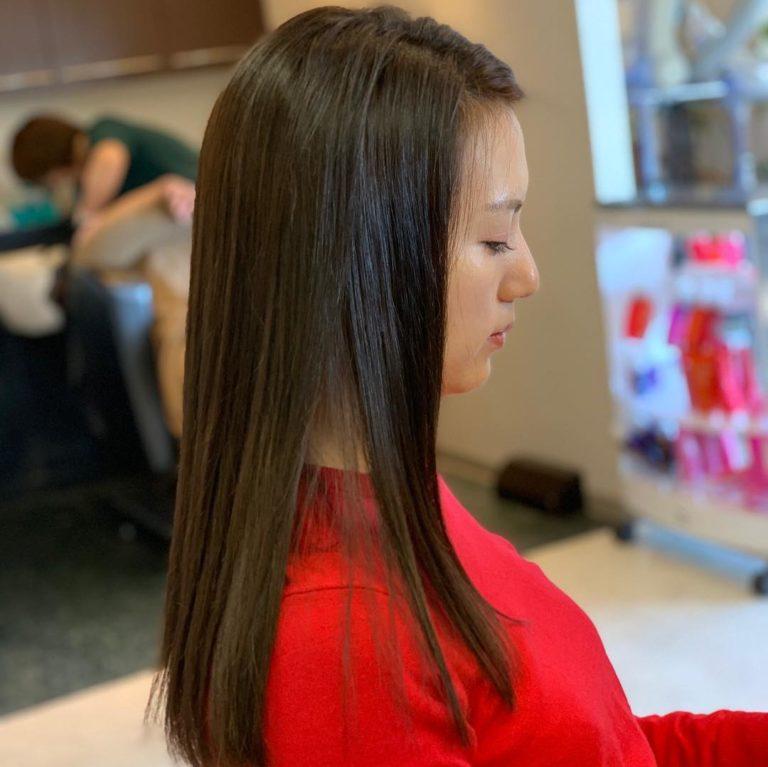 福岡県春日市 美容室 ART of hair アートオブヘアー ロング スラットストレート 美容室 ART of hair アートオブヘアー スラットストレート