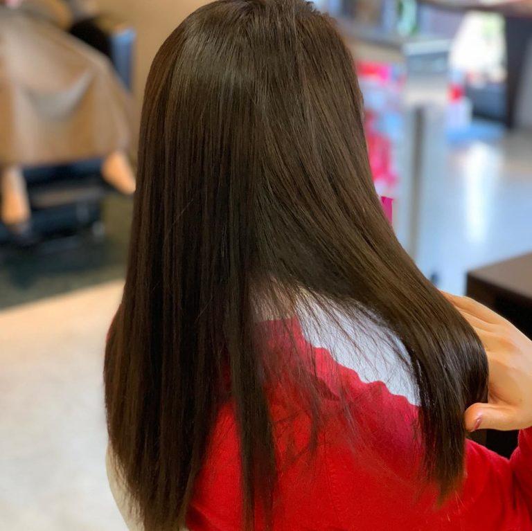 福岡県春日市 美容室 ART of hair アートオブヘアー ロング スラットストレート