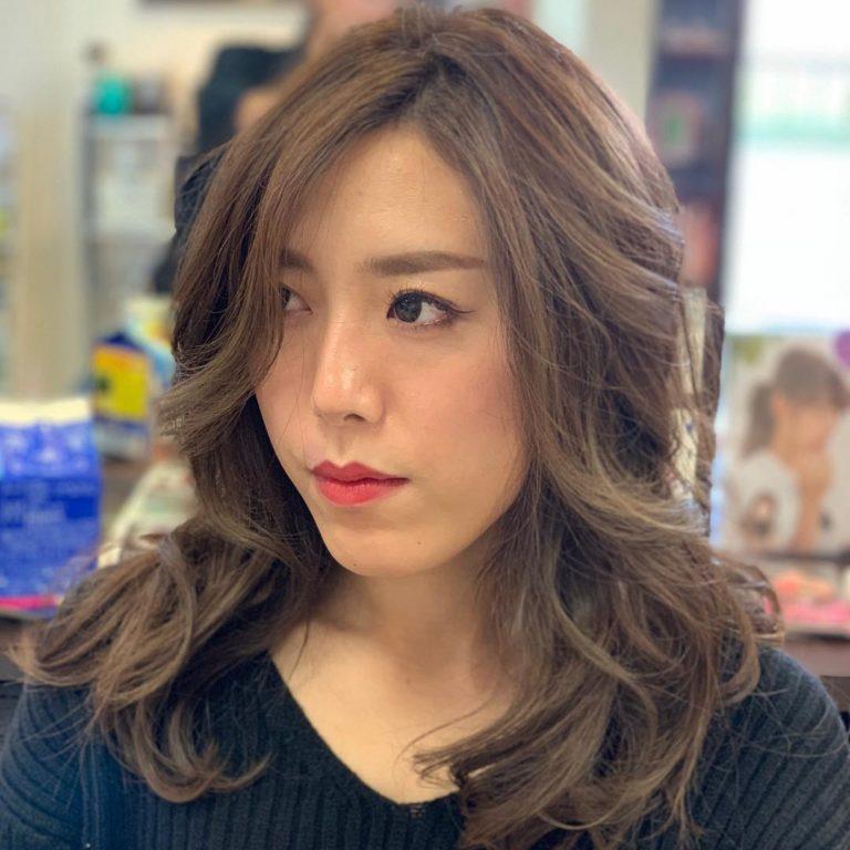 福岡県春日市 美容室 ART of hair アートオブヘアー 外国人風デザインカラー グレージュ