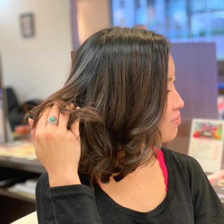 福岡県春日市 美容室 ART of hair アートオブヘアー ストレート&スーパーデジタルパーマ