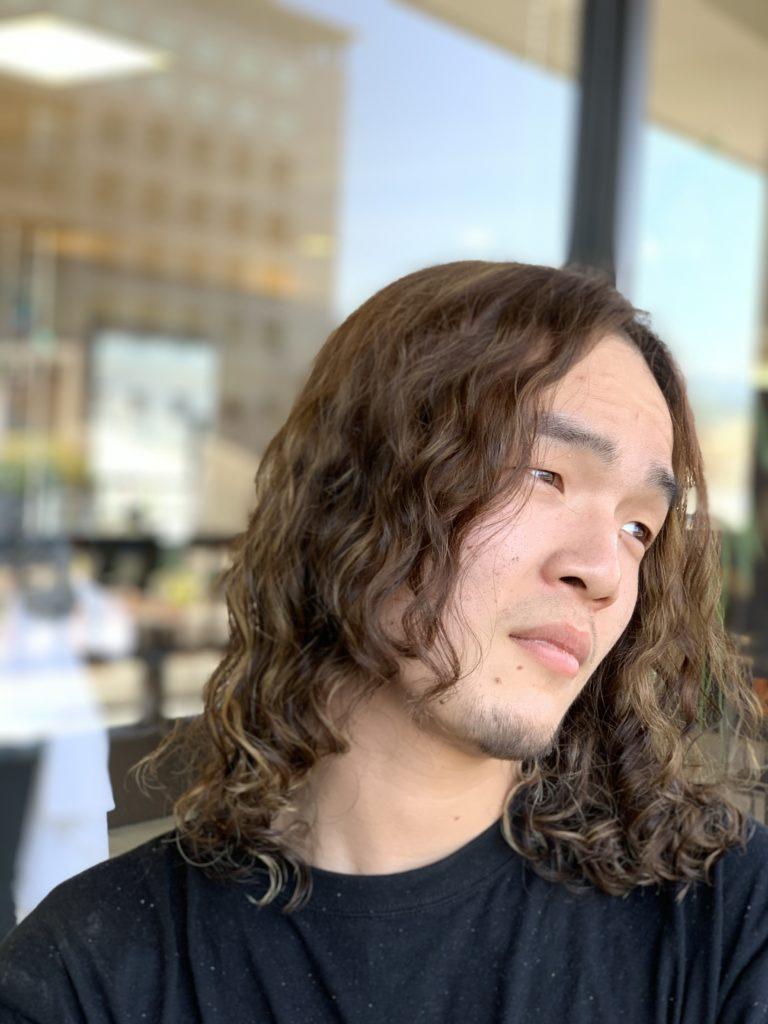 福岡県春日市 美容室 ART of hair アートオブヘアー オーダーメイドデザインカラー プラチナグレージュ