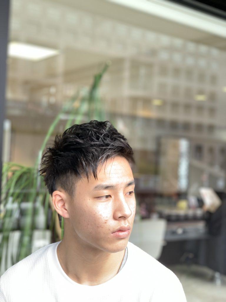 福岡県春日市 美容室 ART of hair アートオブヘアー メンズデジタルパーマ