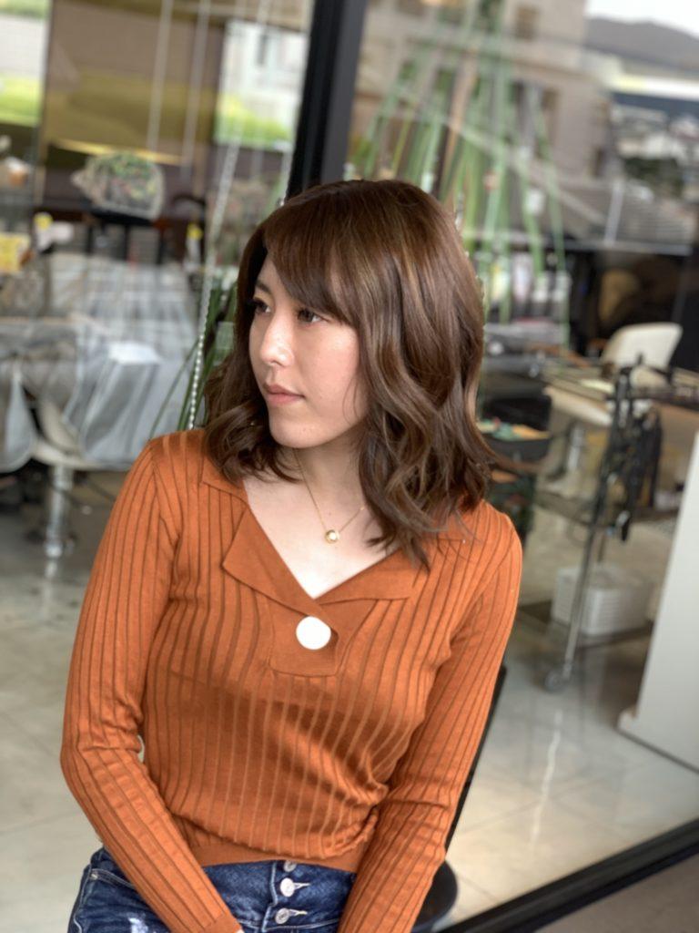 福岡県春日市 美容室 ART of hair アートオブヘアー サンライトデザインカラー