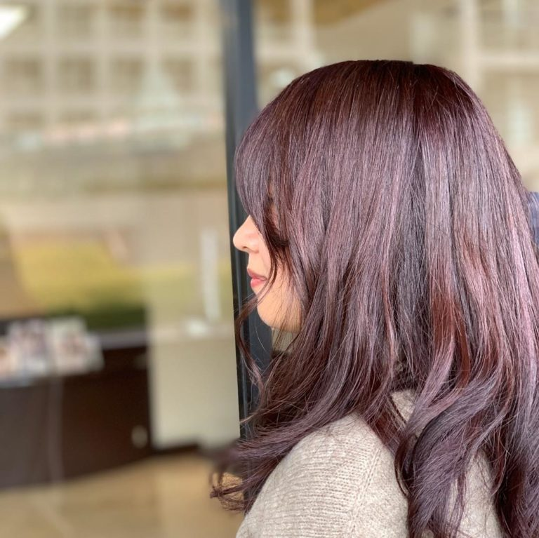 福岡県春日市 美容室 ART of hair アートオブヘアー オージュアコース チェスナットブラウン