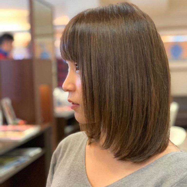 福岡県春日市 美容室 ART of hair アートオブヘアー オージュアコース グレージュブラウン