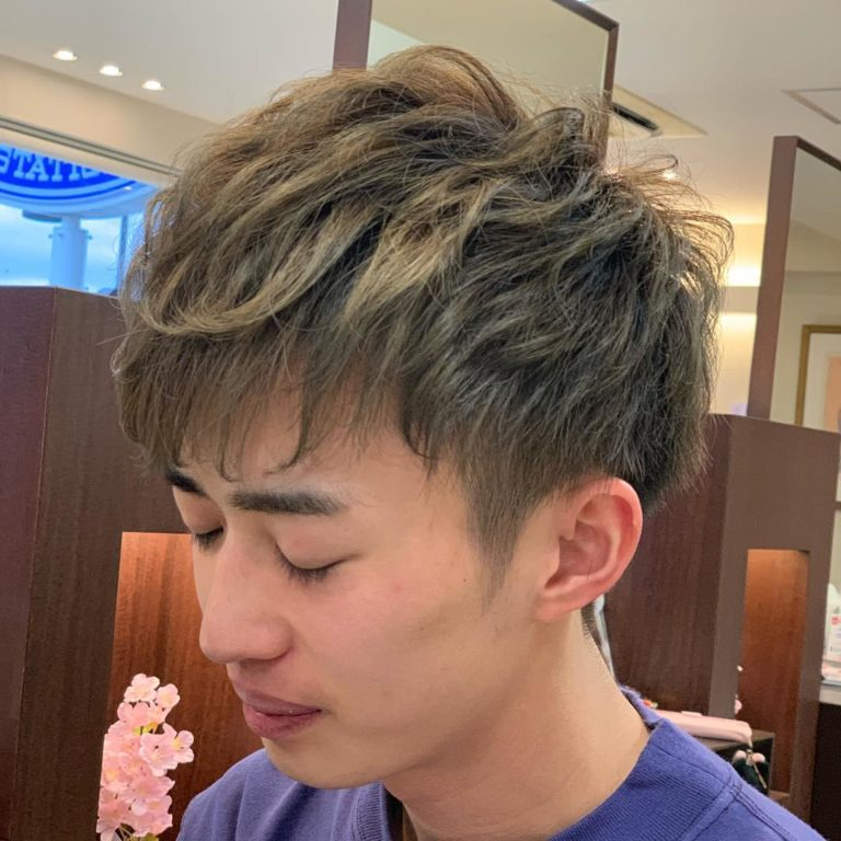 福岡県春日市 美容室 ART of hair アートオブヘアー メンズ スーパーデジタルパーマ