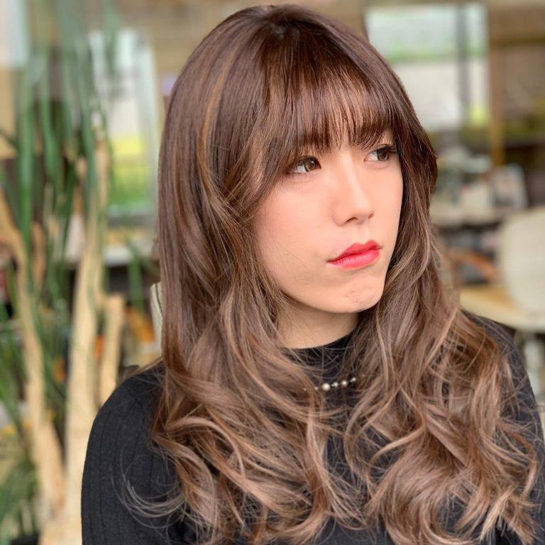 福岡県春日市 美容室 ART of hair アートオブヘアー オーダーメイド外国人風デザインカラー ハイライト + グレージュ
