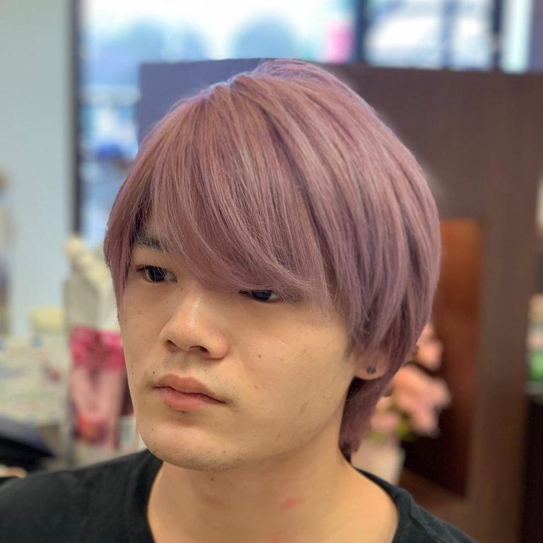 福岡県春日市 美容室 ART of hair アートオブヘアー オージュアコース ピンクアッシュ