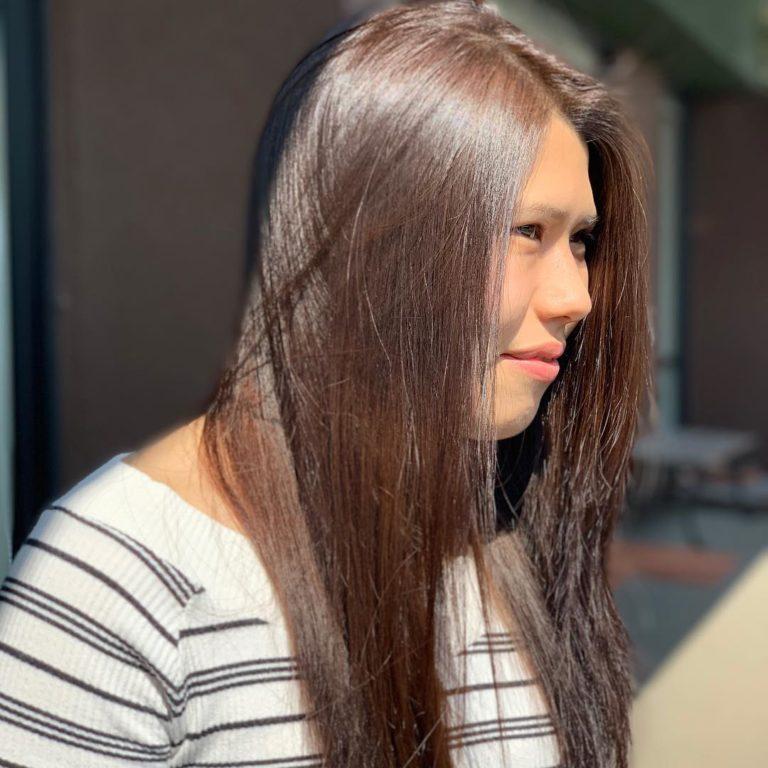 福岡県春日市 美容室 ART of hair アートオブヘアー オージュアコース ピンカット、オージュアトリートメント、炭酸スパ