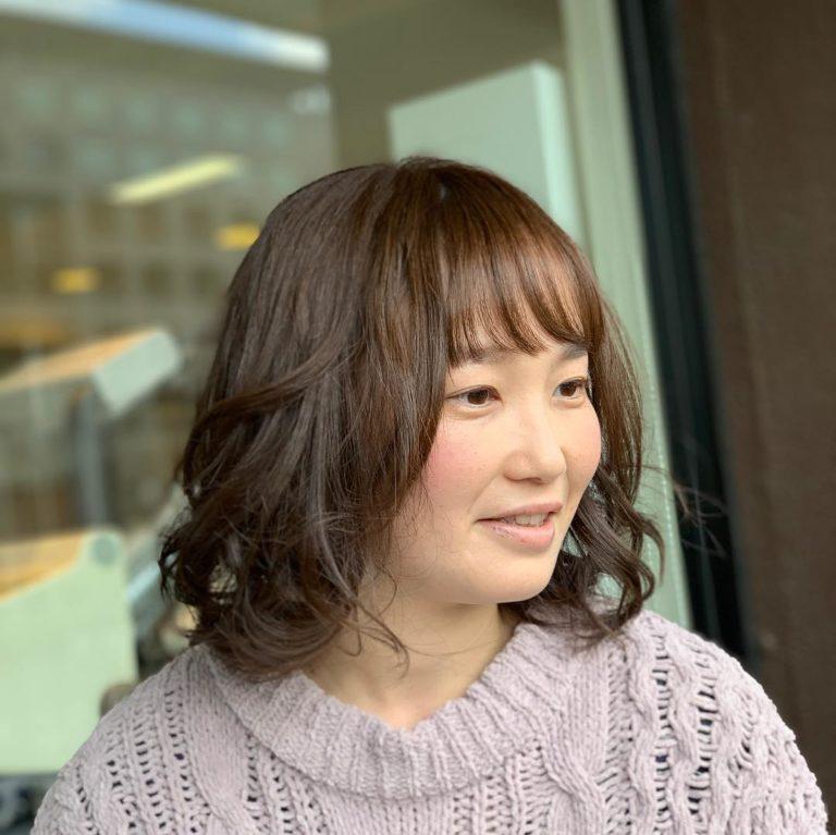 福岡県春日市 美容室 ART of hair アートオブヘアー オージュアコース + ベーシックパーマ