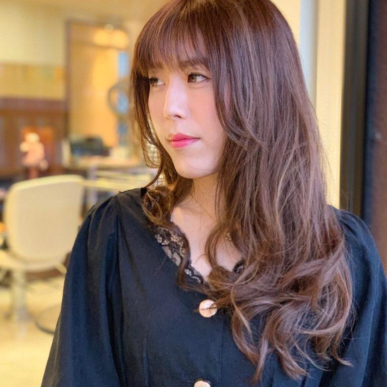 福岡県春日市 美容室 ART of hair アートオブヘアー ボブ 外国人風デザインカラー バレイヤージュ