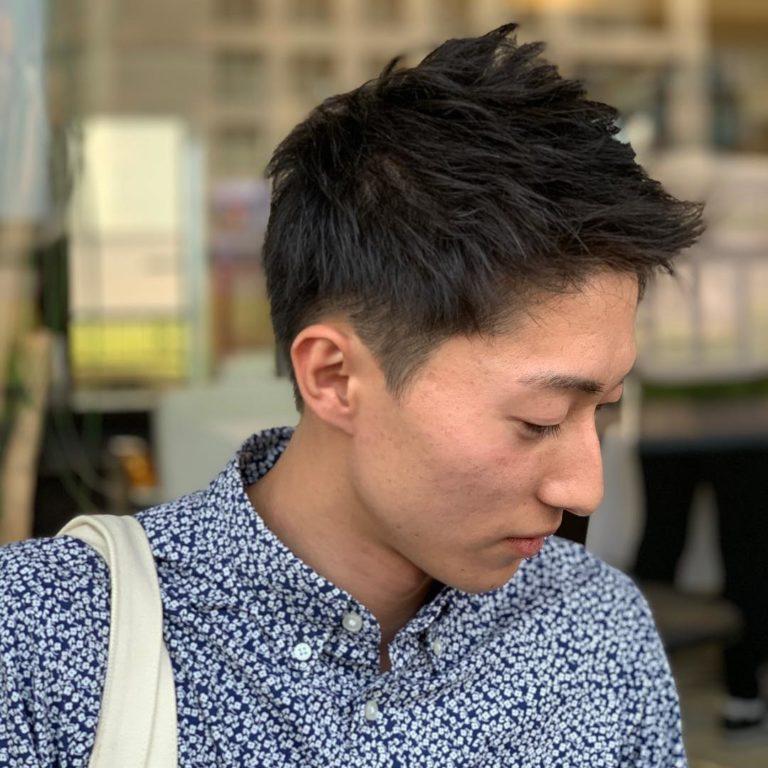 福岡県春日市 美容室 ART of hair アートオブヘアー 前髪ポイントパーマ、オージュアトリートメント、カット