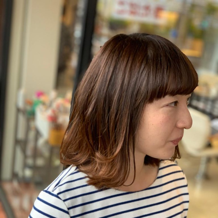 福岡県春日市 美容室 ART of hair アートオブヘアー オージュアコース アッシュグレー