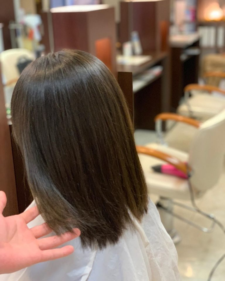福岡県春日市 美容室 ART of hair アートオブヘアー オージュアコース フォギーグレージュ
