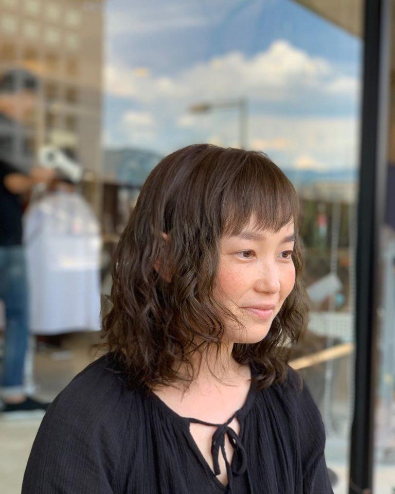 福岡県春日市 美容室 ART of hair アートオブヘアー ミディアム クリニックケアパーマ
