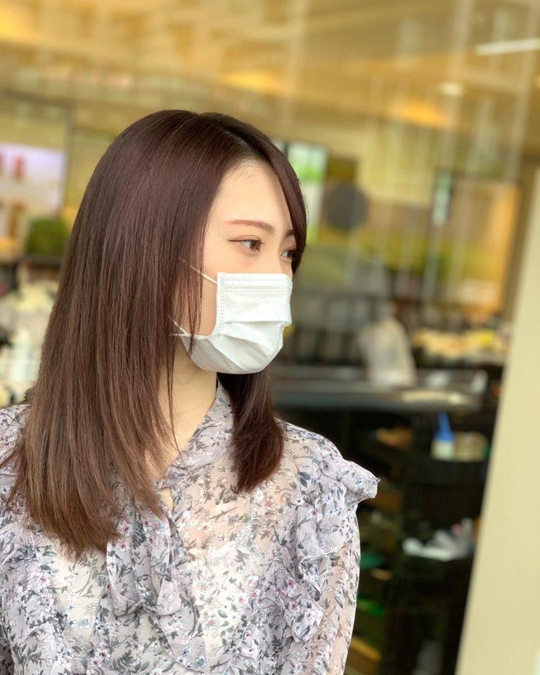 福岡県春日市 美容室 ART of hair アートオブヘアー オージュア コース ピンクベージュ