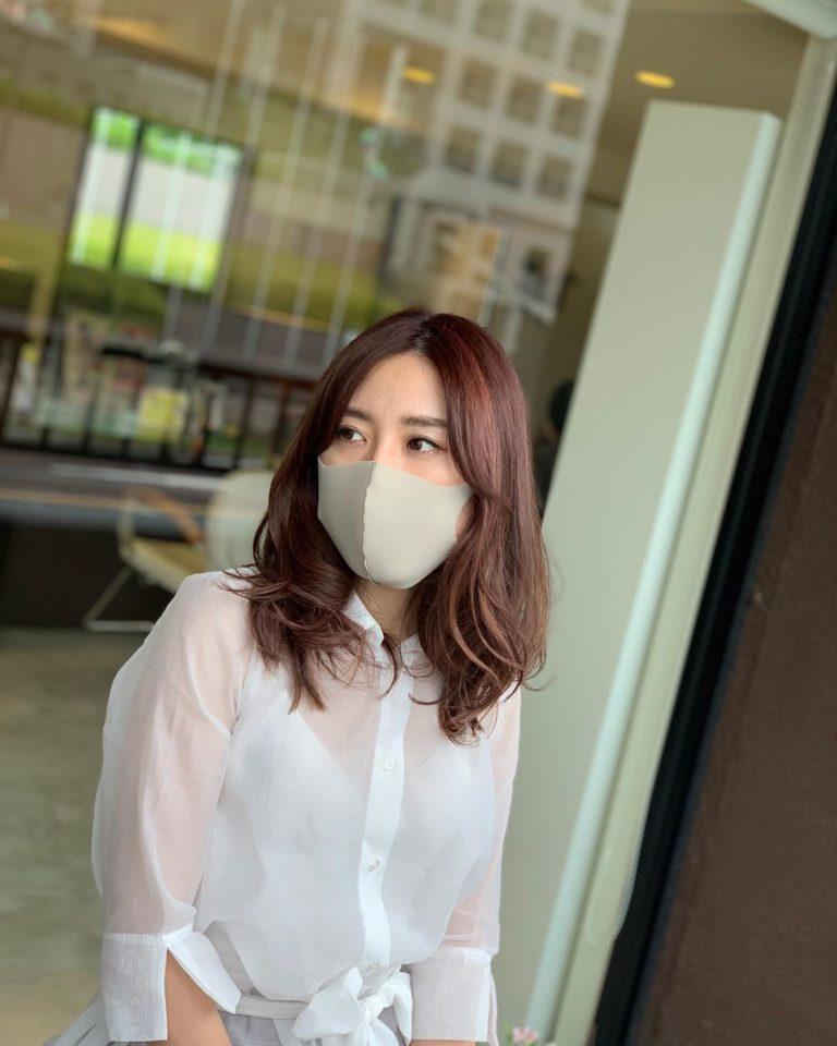 福岡県春日市 美容室 ART of hair アートオブヘアー 外国人風ハイライト ピンク系アッシュ