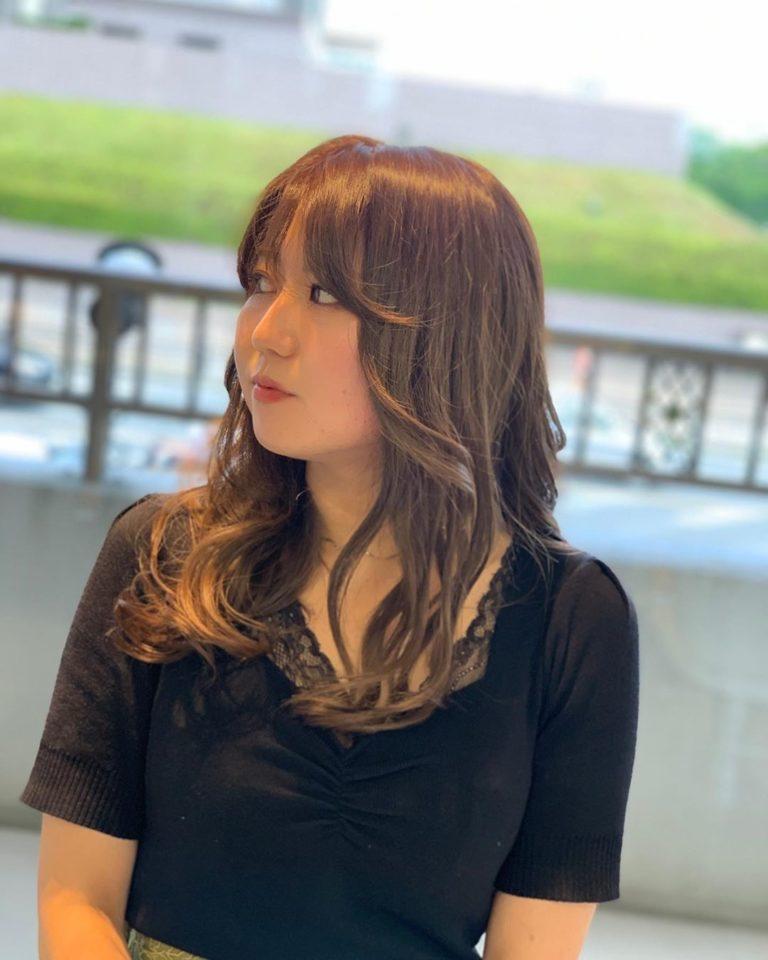 福岡県春日市 美容室 ART of hair アートオブヘアー 外国人風ローライト