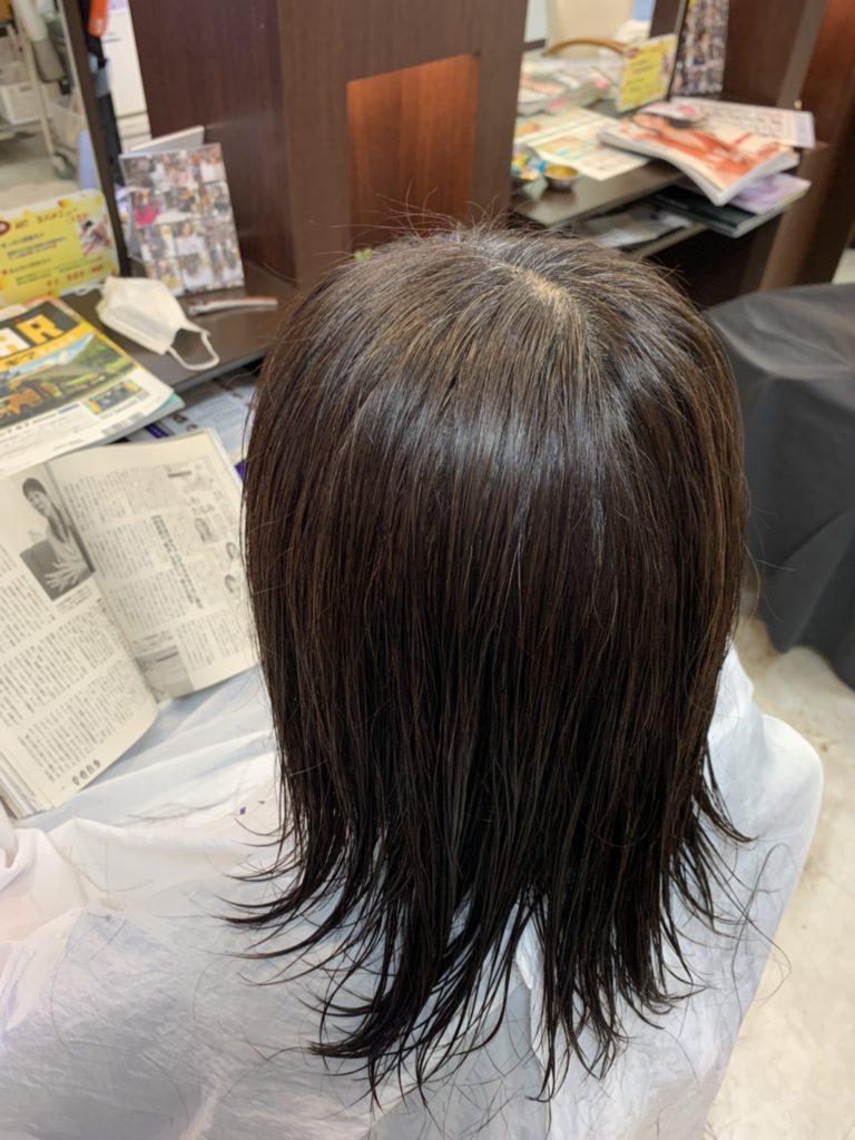 福岡 春日市 大野城市 筑紫野市 美容室 美容院 ART of hair 明るい白髪染め 白髪染め ヴィラロドラ オーガニック 白髪