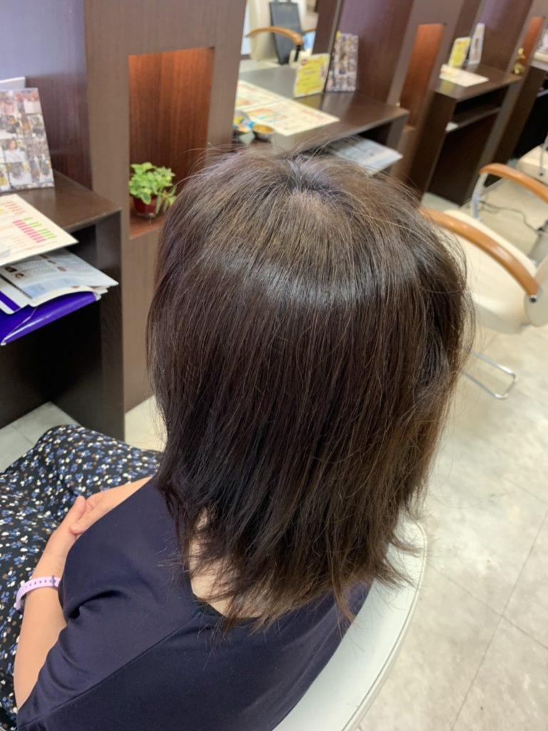 福岡 春日市 大野城市 筑紫野市 美容室 美容院 ART of hair 明るい白髪染め 白髪染め オージュア グレージュブラウン