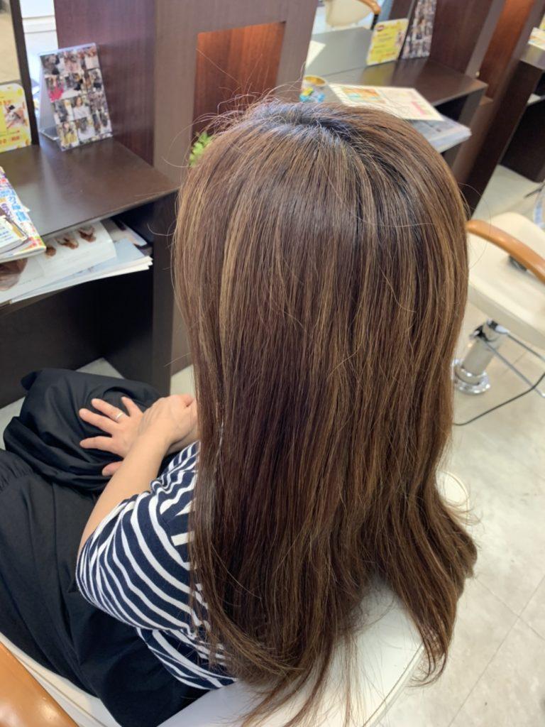 福岡 春日市 大野城市 筑紫野市 美容室 美容院 ART of hair 白髪染め 外国人風デザインカラー ローライト ヴィラロドラオーガニック