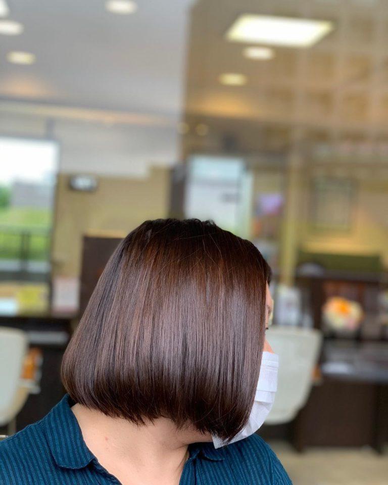 福岡県春日市 美容室 ART of hair アートオブヘアー ミディアム オージュアコース(カット、カラー、トリートメント)