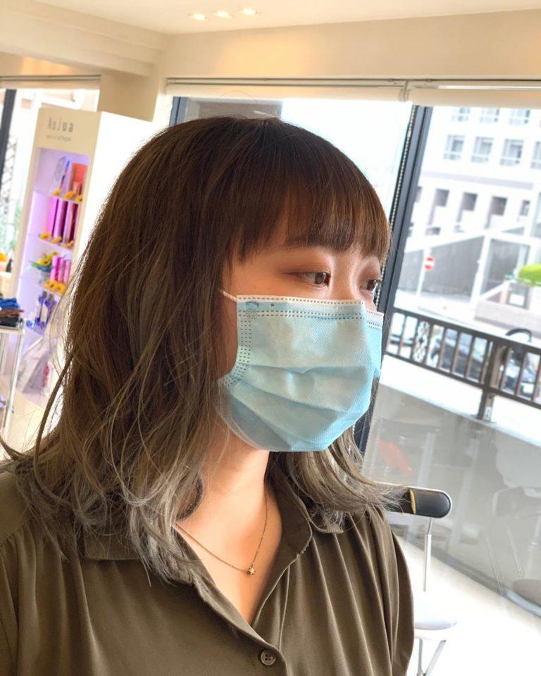 福岡県春日市 美容室 ART of hair アートオブヘアー 外国人風デザインカラー バレイヤージュ