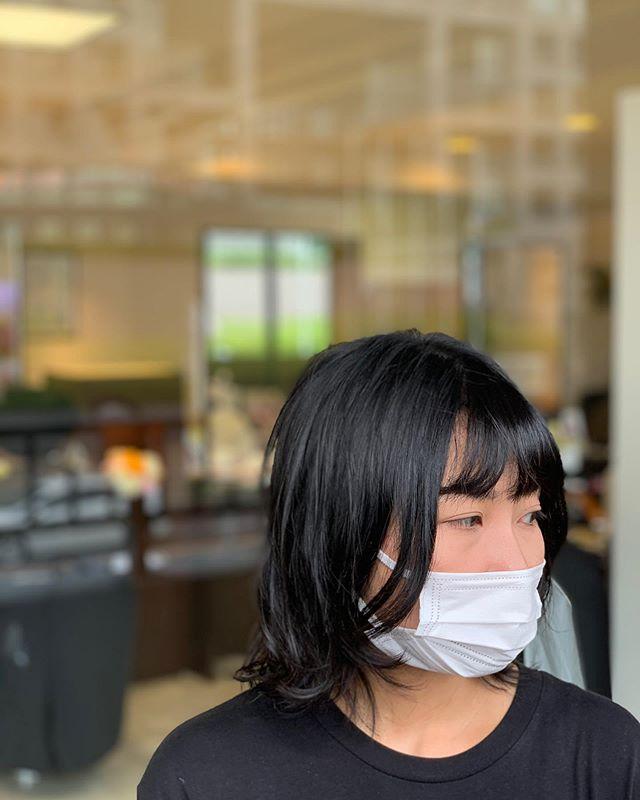 福岡県春日市 美容室 ART of hair アートオブヘアー ミディアム デジタルパーマ(シャンプー、カット、ブロー込)
