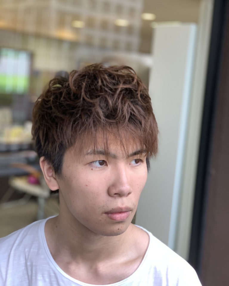福岡県春日市・大野城市 美容室・美容院 ART of hair アートオブヘアー メンズ デジタルパーマ ツーブロック