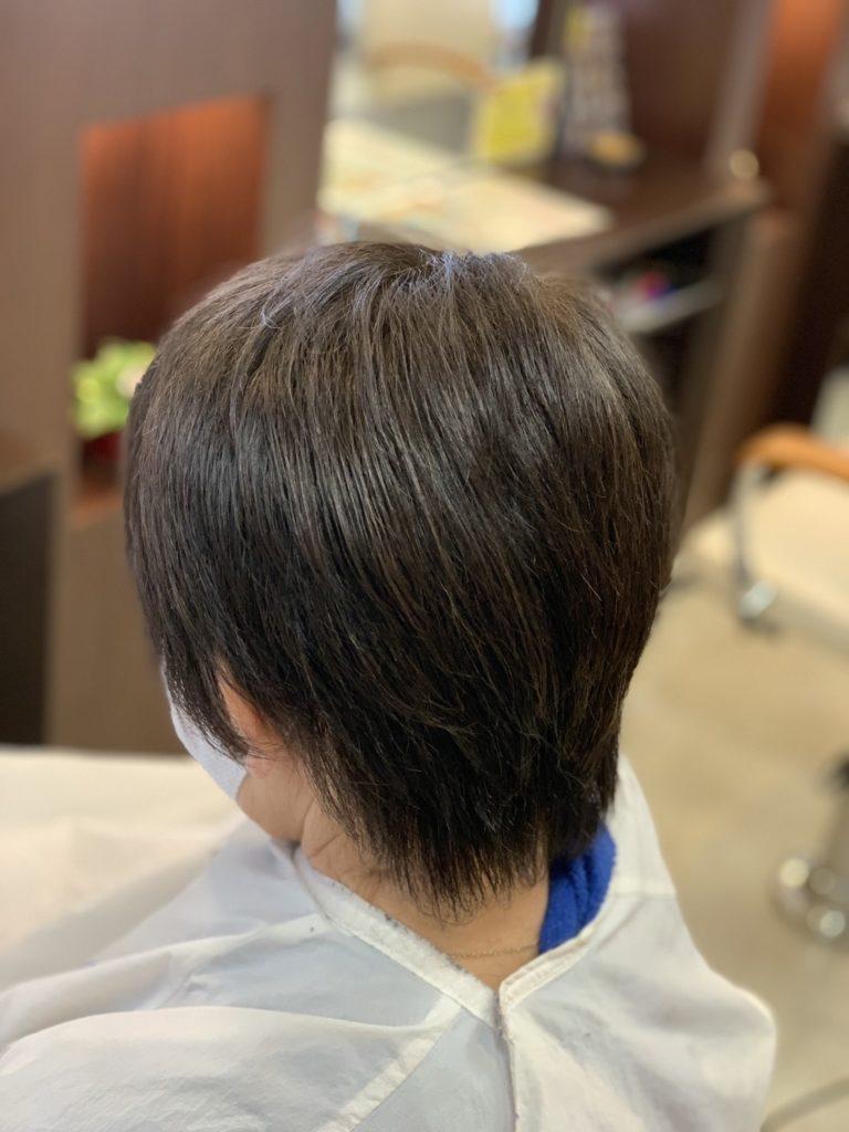 福岡県春日市 美容室 ART of hair アートオブヘアー 白髪も美しく染まる シーディルカラー + カット