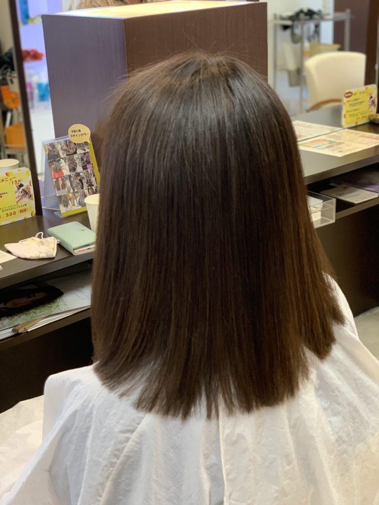 福岡県春日市 美容室 ART of hair アートオブヘアー 明るい白髪染め ヴィラロドラオーガニック グレイヘア